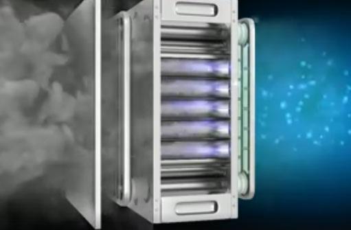 Lọc tĩnh điện ESP xử lý khói bếp , khói bụi công nghiệp