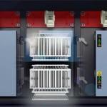 Lọc tĩnh điện ESP dạng 3 lõi , chuyên dùng để xử lý khói bếp, khói bụi công nghiệp